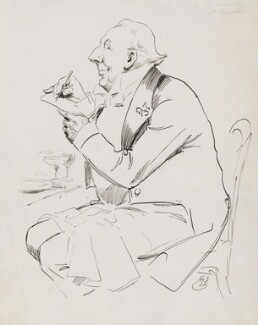 Sir Frank Lockwood, by Harry Furniss - NPG 3487
