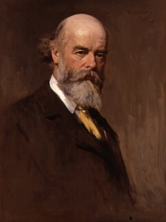Sir Oliver Joseph Lodge, by Sir George Reid - NPG 3952
