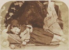 Elizabeth Logan, by David Octavius Hill, and  Robert Adamson - NPG P6(172)