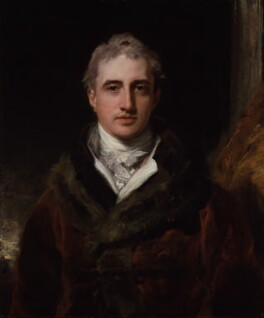Robert Stewart, 2nd Marquess of Londonderry (Lord Castlereagh), by Sir Thomas Lawrence, 1809-1810 - NPG 891 - © National Portrait Gallery, London