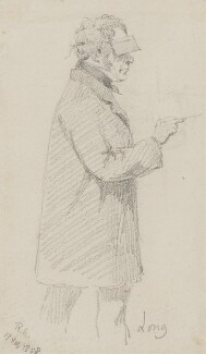 Edwin Longsden Long, by Charles Bell Birch - NPG 2474