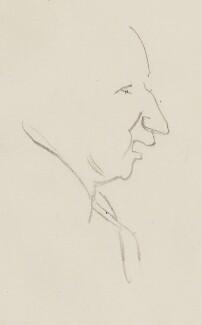 Sir (Alfred Charles) Bernard Lovell, by Sir David Low - NPG 4529(211)