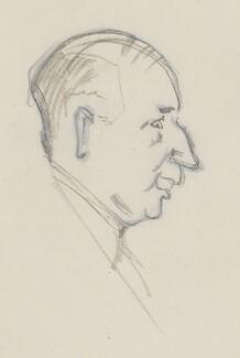 Sir (Alfred Charles) Bernard Lovell, by Sir David Low - NPG 4529(213)