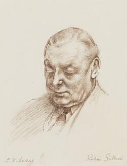 Edward Verrall Lucas, by Robin Craig Guthrie - NPG 3934