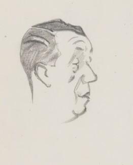 Sir Robert Frith Lusty, by Sir David Low - NPG 4529(217)