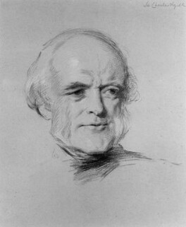 Sir Charles Lyell, 1st Bt, by George Richmond - NPG 1064
