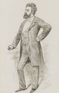 Edward Robert Bulwer-Lytton, 1st Earl of Lytton, by Harry Furniss - NPG 3488