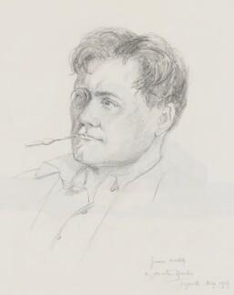 James McBey, by Martin Hardie - NPG 4463