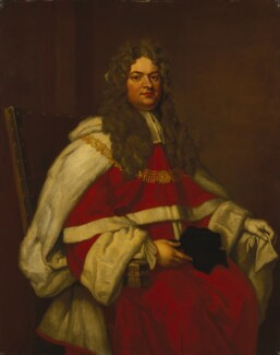 Thomas Parker, 1st Earl of Macclesfield, after Sir Godfrey Kneller, Bt, based on a work of 1712 - NPG 799 - © National Portrait Gallery, London