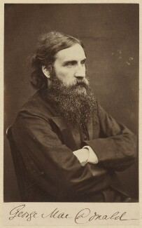 George MacDonald, by William Jeffrey - NPG P36