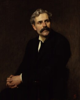 Ramsay MacDonald, by Solomon Joseph Solomon - NPG 3890