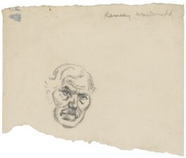 Ramsay MacDonald, by Sir David Low, 1926 or before - NPG 4529(222) - © Solo Syndication Ltd