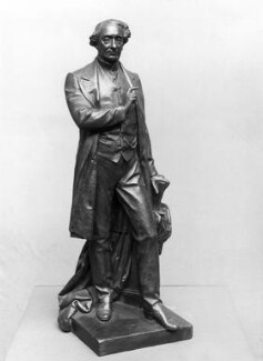 Sir John Alexander Macdonald, by Charles Bell Birch - NPG 1550