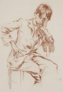 Ambrose McEvoy, by Augustus Edwin John,  - NPG 3056 - © National Portrait Gallery, London