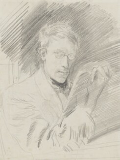 Ambrose McEvoy, by Ambrose McEvoy, circa 1912 - NPG  - © National Portrait Gallery, London