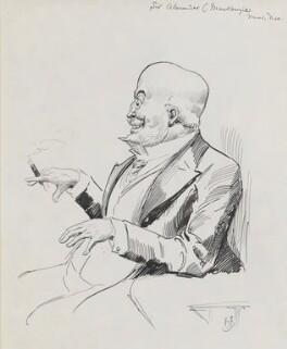 Sir Alexander Campbell Mackenzie, by Harry Furniss - NPG 3490