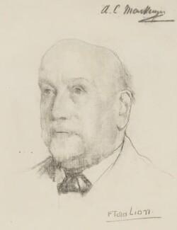 Sir Alexander Campbell Mackenzie, by Flora Lion - NPG 3972