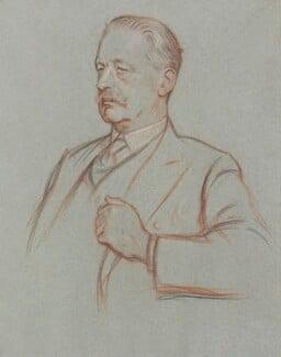 Sir Halford John Mackinder, by William Rothenstein - NPG 4785