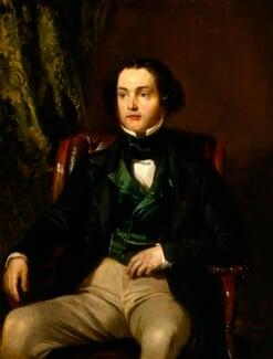 Daniel Maclise, by Edward Matthew Ward, 1846 - NPG 616 - © National Portrait Gallery, London