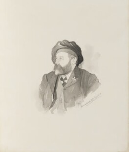 William McTaggart, by Walker Hodgson - NPG 4041(2)