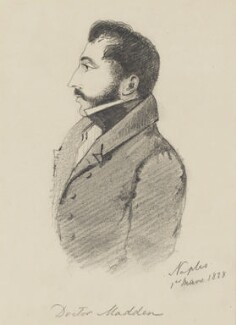 Richard Robert Madden, by Alfred, Count D'Orsay - NPG 4026(41)