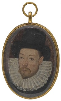 John Maitland, 1st Baron Maitland, by Unknown artist, circa 1588 - NPG  - © National Portrait Gallery, London