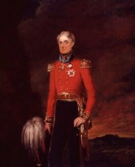 Sir Peregrine Maitland, by William Salter - NPG 3736