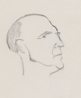 Roger Mellor Makins, 1st Baron Sherfield, by Sir David Low - NPG 4529(225)