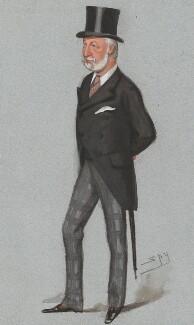 William Drogo Montagu, 7th Duke of Manchester, by Sir Leslie Ward - NPG 2585