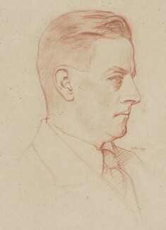 Frederic Manning, by William Rothenstein - NPG 4417