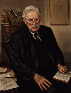 Albert Mansbridge, by John Mansbridge, 1947 - NPG  - © National Portrait Gallery, London