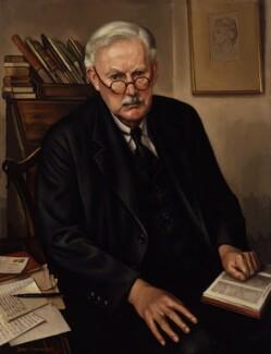 Albert Mansbridge, by John Mansbridge, 1947 - NPG 3987 - © National Portrait Gallery, London