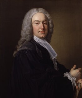 William Murray, 1st Earl of Mansfield, by Jean Baptiste van Loo - NPG 474
