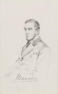Sydney William Herbert Pierrepont, 3rd Earl Manvers, by Frederick Sargent - NPG 1834(u)