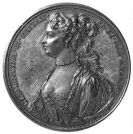 Maria Clementina Sobieska, by Otto Hamerani - NPG 1686