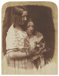 Jane Webster (née Binny); Mrs Marrable (née Binny), by David Octavius Hill, and  Robert Adamson - NPG P6(109)