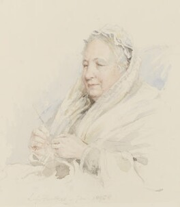 Catherine Marsh, by Lionel Grimston Fawkes - NPG 2365