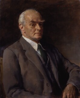 Sir Edward Howard Marsh, by Sir Oswald Birley, 1949 - NPG 3945 - © National Portrait Gallery, London