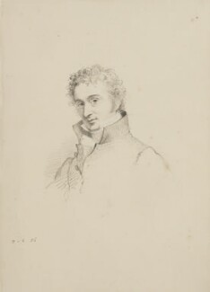 John Martin, by William Brockedon - NPG 2515(13)