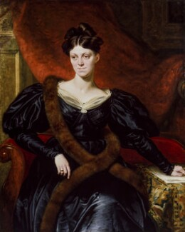 Harriet Martineau, by Richard Evans, exhibited 1834 - NPG 1085 - © National Portrait Gallery, London