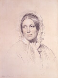 Harriet Martineau, by George Richmond - NPG 1796
