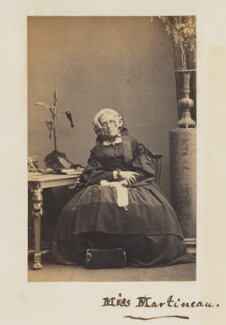Harriet Martineau, by Camille Silvy - NPG P33