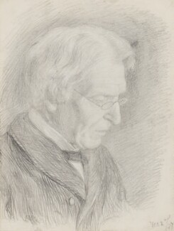 James Martineau, by Clara Martineau (née Fell), 1887 - NPG 2526 - © National Portrait Gallery, London
