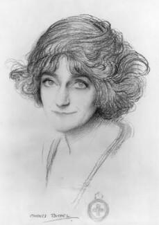 Angelita Helena Margarita (née de Silva Ferro), Lady Martin-Harvey, by Charles Buchel (Karl August Büchel) - NPG 4694a