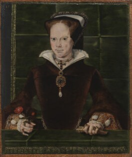 Queen Mary I, by Hans Eworth, 1554 - NPG 4861 - © National Portrait Gallery, London