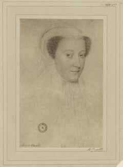 Mary, Queen of Scots, by Braun & Co (Adolphe Braun), after  François Clouet - NPG D21634