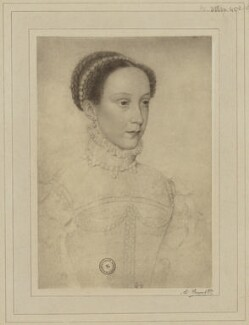 Mary, Queen of Scots, by Braun & Co (Adolphe Braun), after  François Clouet - NPG D21633