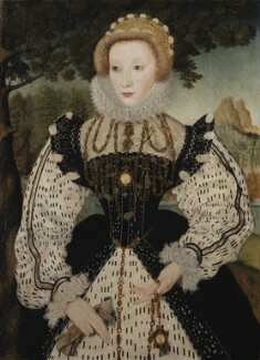 Unknown woman, formerly known as Mary, Queen of Scots, by Unknown artist, circa 1570 - NPG 96 - © National Portrait Gallery, London