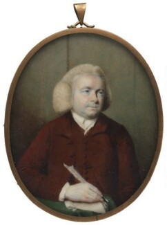 Unknown man, formerly known as William Mason, attributed to John Plott - NPG 1393