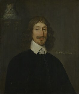 Sir William Lewis, 1st Bt, by Unknown artist - NPG 2107